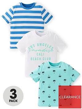 mini-v-by-very-boys-3-pack-palm-tree-slogan-and-stripe-short-sleeve-t-shirts-multi