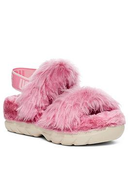 Ugg Fluff Sugar Sustainable Sandals - Pink