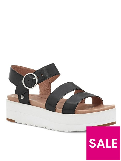 ugg-leedah-wedge-sandal--nbspblack