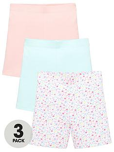 mini-v-by-very-girlsnbsp3-pack-floral-cycling-shorts-multi