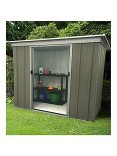 yardmaster-yardmaster-6-x-4-ft-platinum-tall-metal-pent-roof-shed