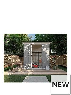 yardmaster-yardmaster-6-x-4-ft-platinum-tall-metal-pent-roof-shed-with-floor-frame-kit