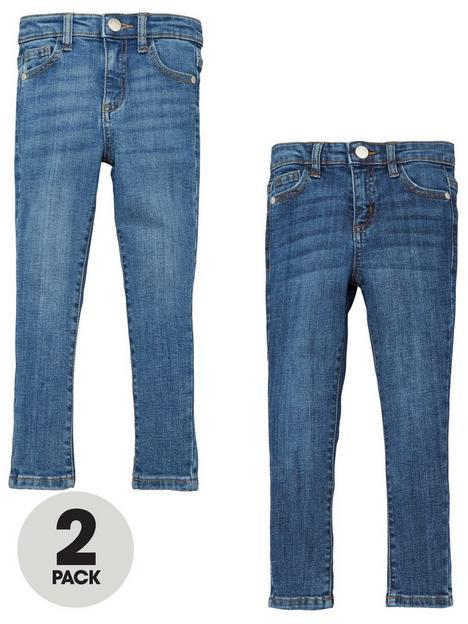 mini-v-by-very-girls-2-pack-denim-jeans-midlight-wash