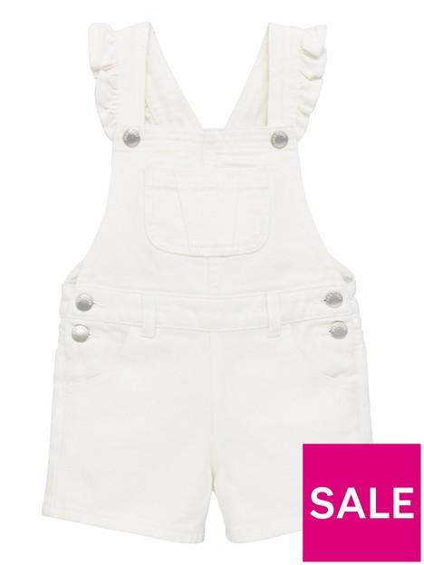 mini-v-by-very-girls-essentials-short-denim-dungaree-white