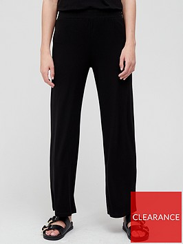 v-by-very-premium-wide-leg-co-ord-pant-black
