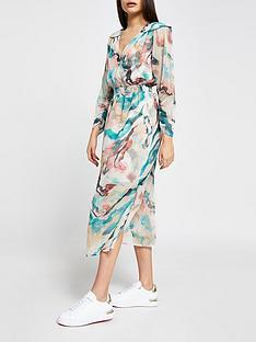 river-island-whitney-mineral-print-wrap-midi-dress