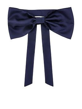 monsoon-girls-duchess-twill-bridesmaid-bow-and-sash-navy