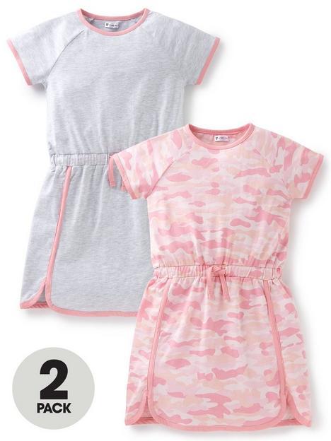 v-by-very-girls-2-pack-dresses-multi