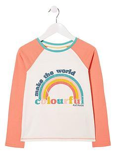 fatface-girls-long-sleeve-be-colourful-graphic-t-shirt-ecru