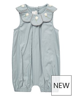 mamas-papas-baby-girls-scallop-collar-romper-blue