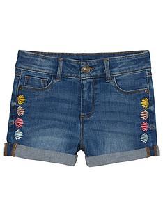 fatface-girls-embroidered-shell-denim-shorts-denim