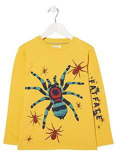 fatface-boys-long-sleeve-spider-graphic-t-shirt-daffodil