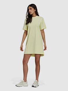 adidas-originals-tennis-luxe-tee-dress-yellow