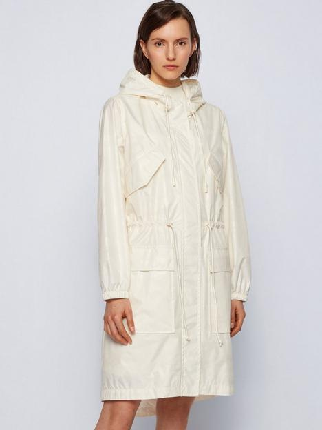boss-pakono-lightweight-hooded-anorak-white
