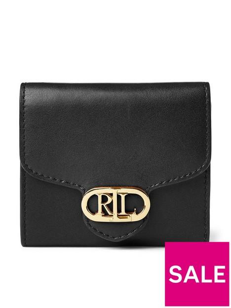 lauren-by-ralph-lauren-leather-compact-purse-black