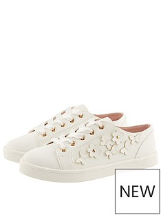 monsoon-girls-butterfly-trim-trainer-ivory