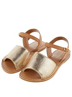 monsoon-girls-zeta-peeptoenbspsandal-gold