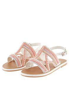 monsoon-girls-cross-strap-beaded-sandal-pink