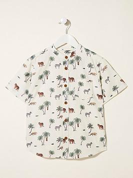 fatface-boys-short-sleeve-safari-print-grandad-shirt-ecru