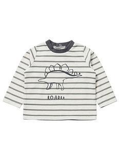 mamas-papas-baby-boys-stripe-dino-long-sleeve-tshirt-grey