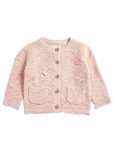 mamas-papas-baby-girls-embroidered-cardigan-pink