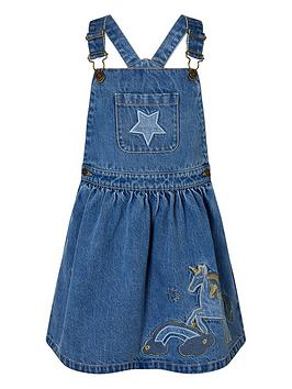 monsoon-girls-denim-unicorn-pinny-dress-blue