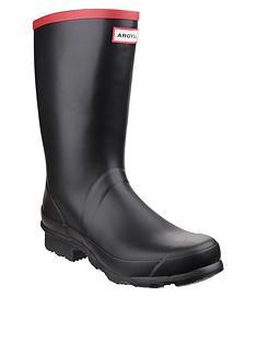 hunter-argyll-short-knee-boots-black