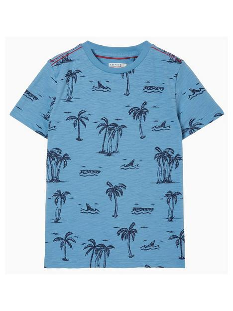 fatface-boys-short-sleeve-resort-print-tshirt-sky-blue