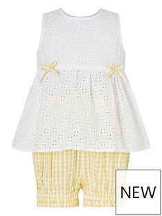 monsoon-baby-girls-broderie-top-and-short-set-yellow
