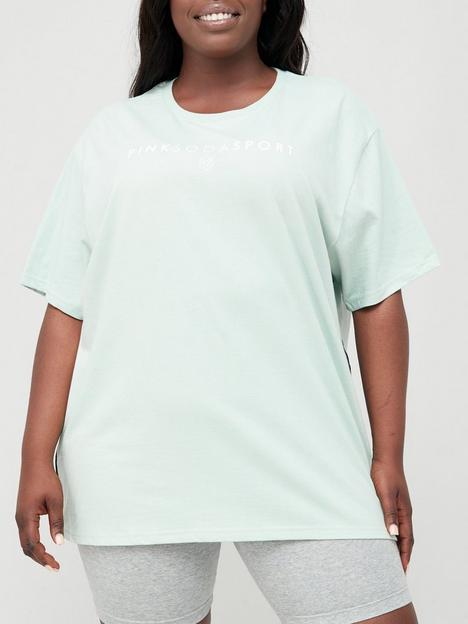 pink-soda-cora-tape-bf-t-shirt-plus