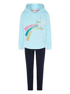 monsoon-girls-star-hoodie-and-legging-set-blue