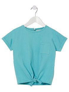 fatface-girls-short-sleeve-knot-front-tshirt-light-aqua