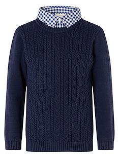 monsoon-boys-mock-collar-cable-knit-jumper-navy