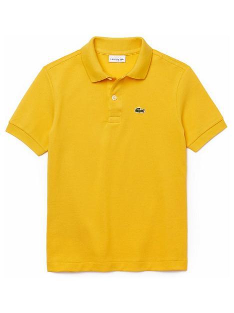 lacoste-boys-classic-short-sleeve-pique-polo-yellow