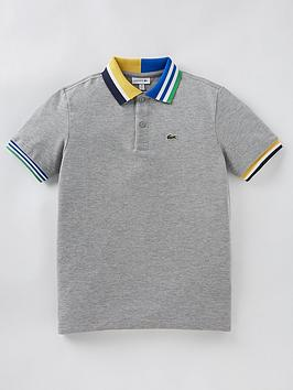 lacoste-boys-stripe-collar-polo-shirt-grey-marl