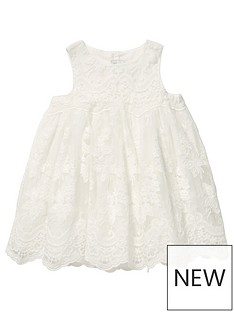 mamas-papas-baby-girls-embroidered-scallop-hem-dress-off-white