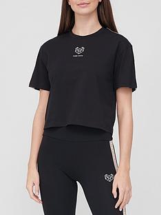 pink-soda-bay-tape-t-shirt-black