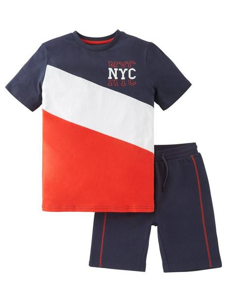 v-by-very-boys-nyc-cut-and-sew-t-shirt-and-short-set-multi