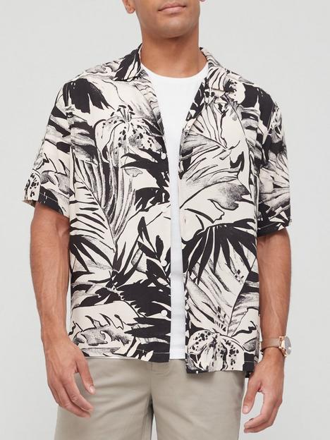 allsaints-lanai-leaf-print-short-sleeve-shirt-blacknbsp