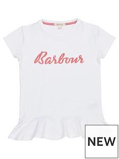 barbour-girls-rebecca-frill-hem-t-shirt-white