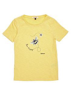 barbour-girls-merseyside-bee-print-t-shirt-yellow