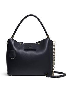 radley-chelsea-creek-medium-zip-top-multiway-tote-bag-black