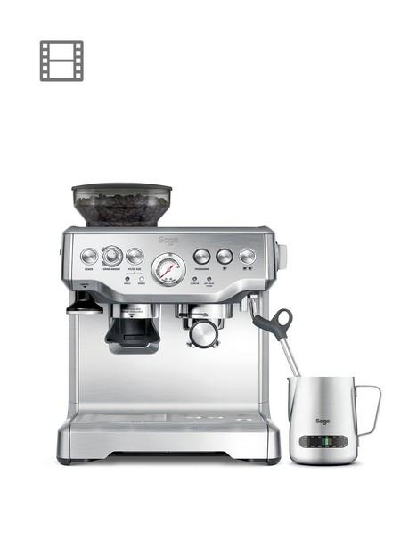 sage-barista-express-espresso-coffee-machinenbspwith-temp-control-milk-jug