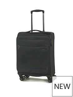 rock-luggage-deluxe-lite-carry-on-8-wheel-suitcase-black