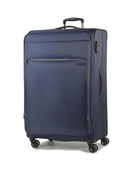 rock-luggage-deluxe-lite-large-8-wheel-suitcase-navy
