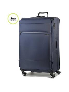 rock-luggage-deluxe-lite-medium-8-wheel-suitcase-navy