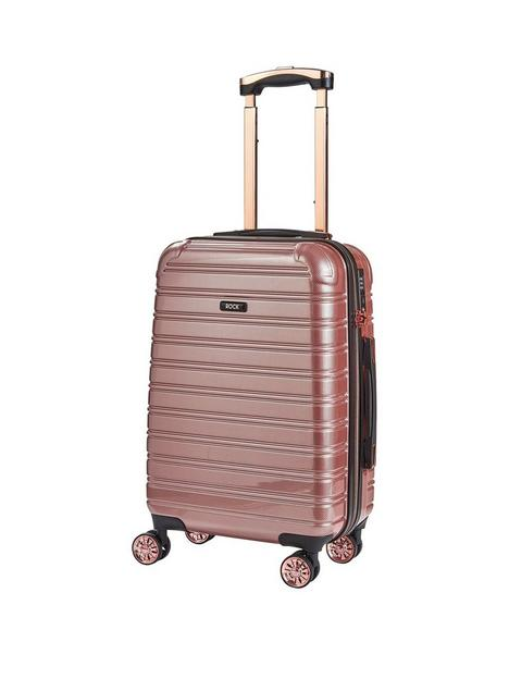 rock-luggage-chicago-carry-on-8-wheel-suitcase-rose-pink