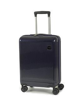 rock-luggage-windsor-carry-on-8-wheel-suitcase-navy