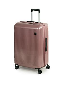 rock-luggage-windsor-large-8-wheel-suitcase-rose-pink