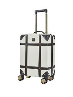 rock-luggage-vintage-carry-on-8-wheel-suitcase-cream